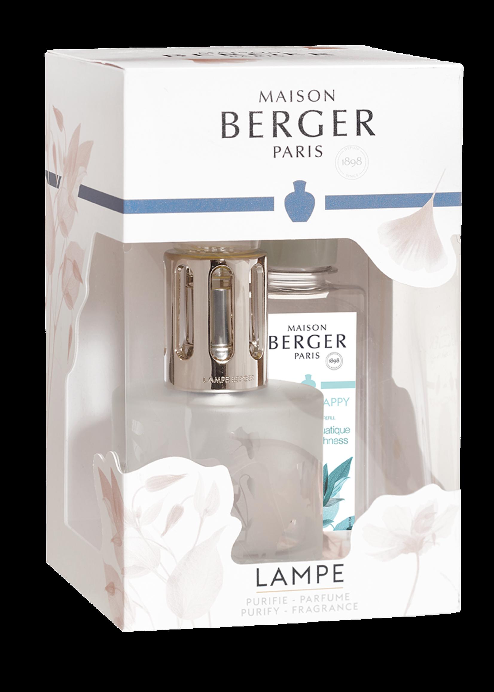 Lampe Berger Lampe Berger Coffret Lia Givre Fleurie giftset