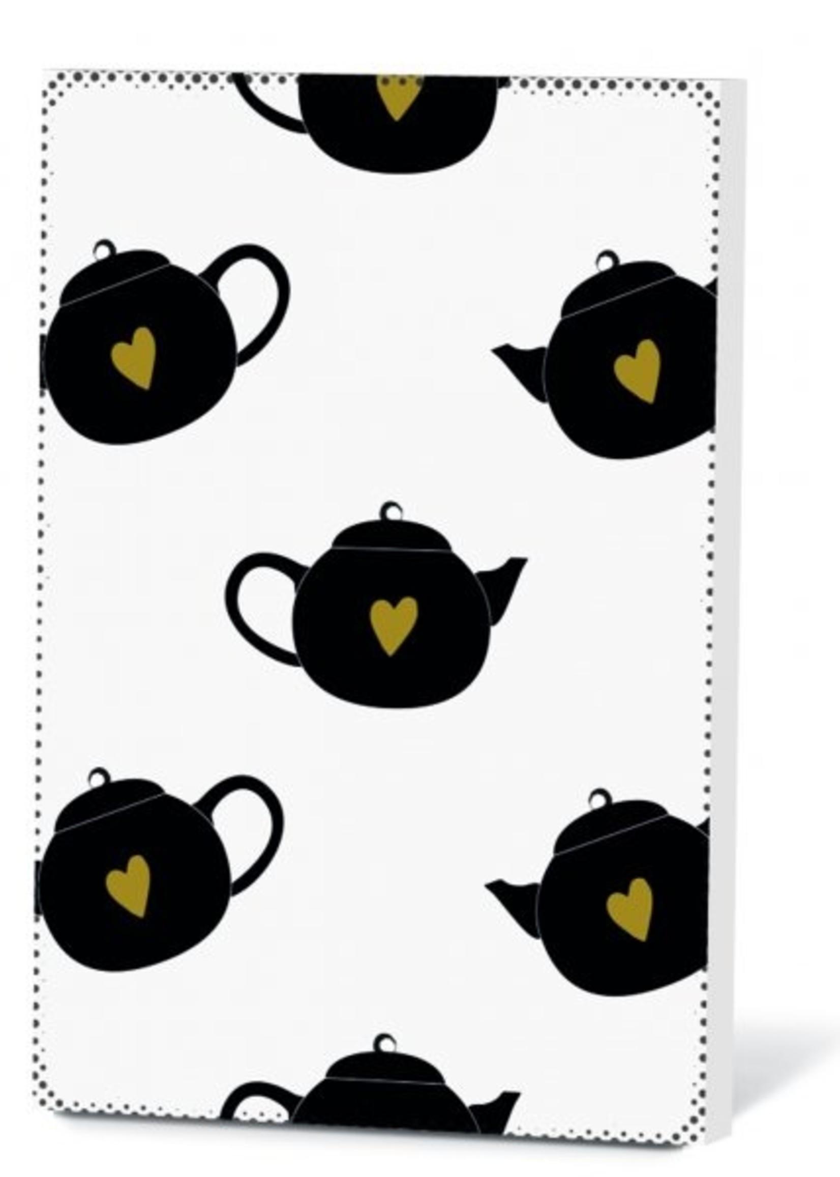 Thee in een kaartje