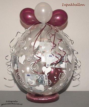 Inpakballon 25 Jarig Huwelijk