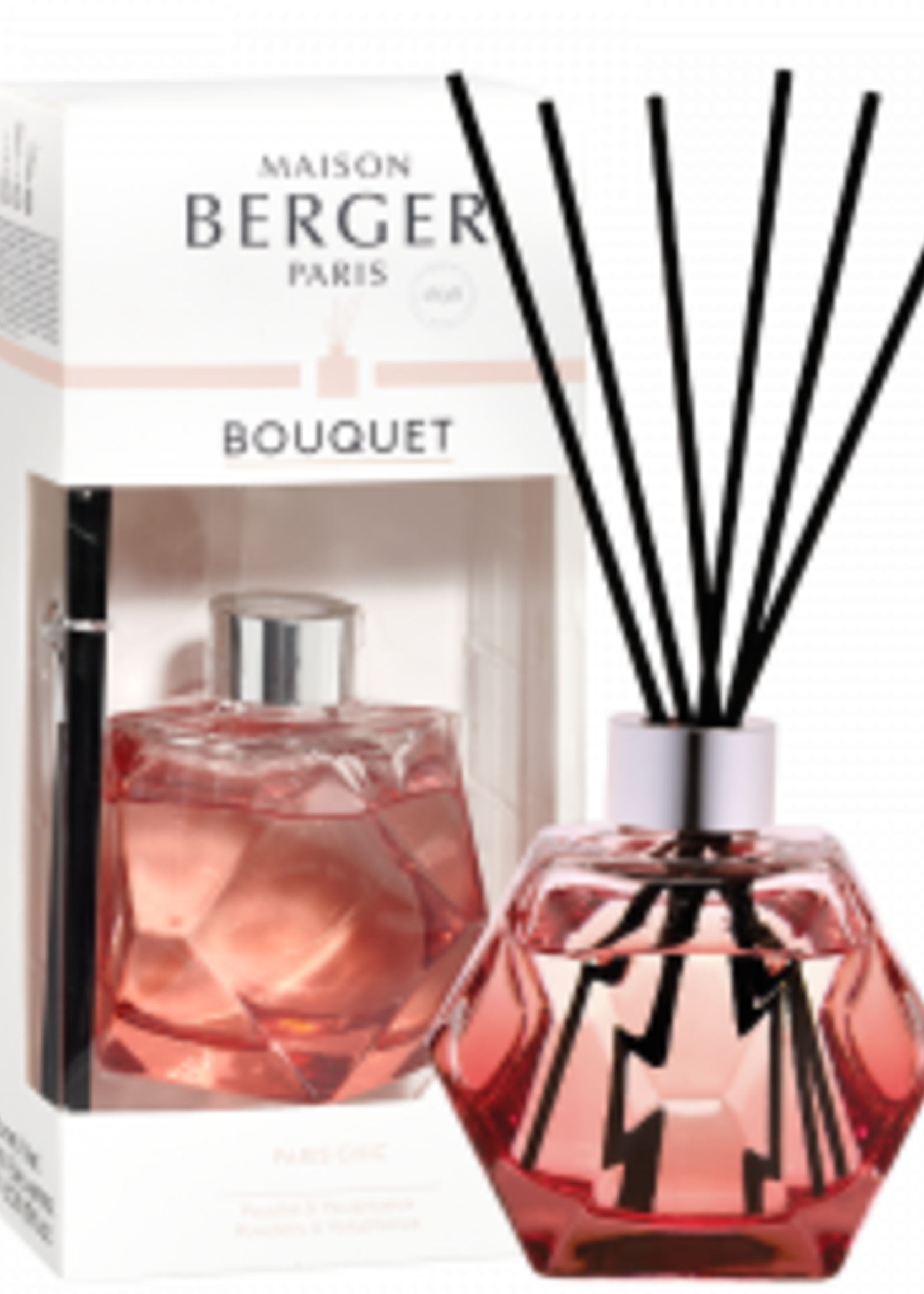 Parfum de Berger Parfumverspreider Geometry Grenadine & Paris Chic