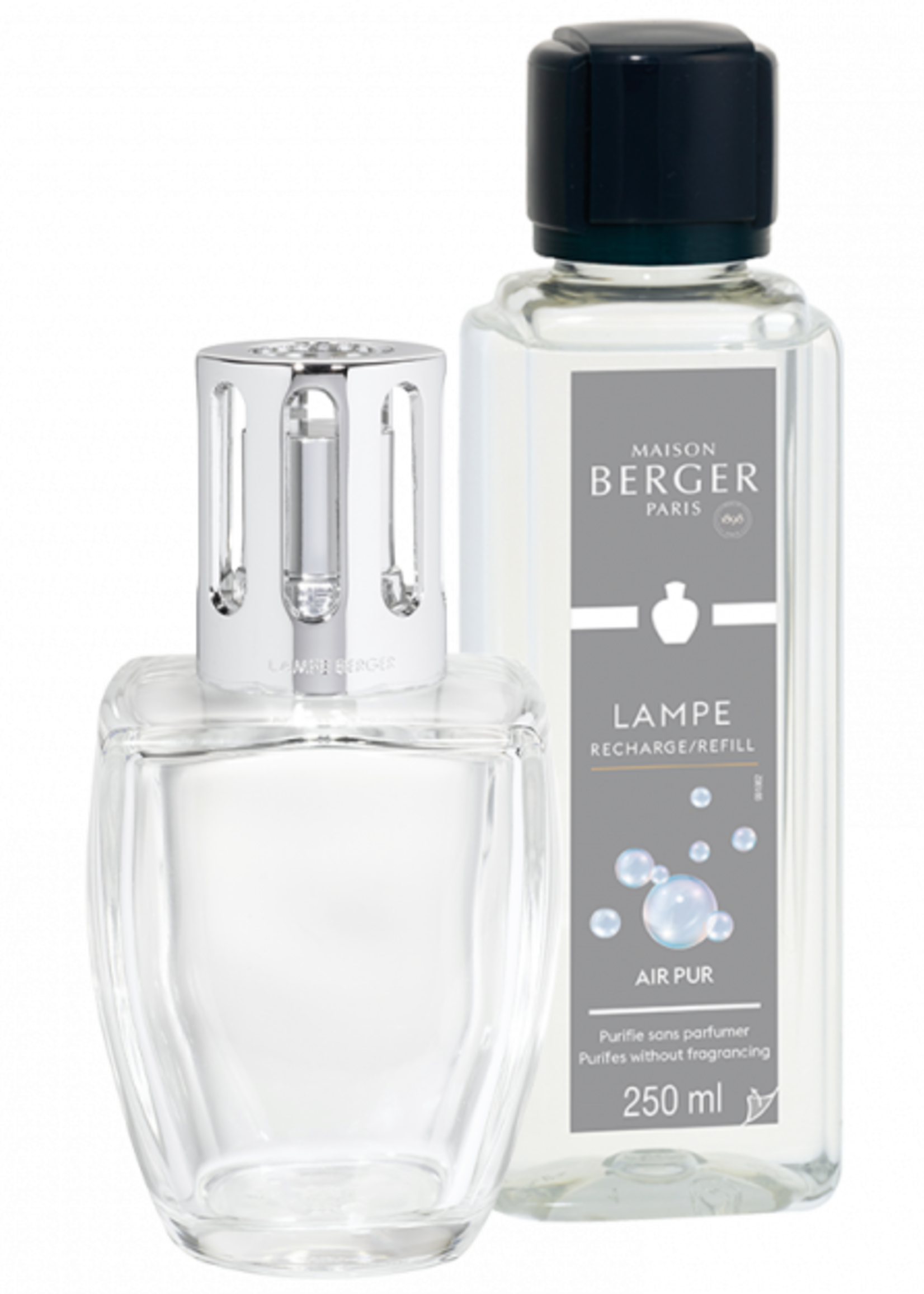 Lampe Berger Giftset Lampe Berger June Transparente