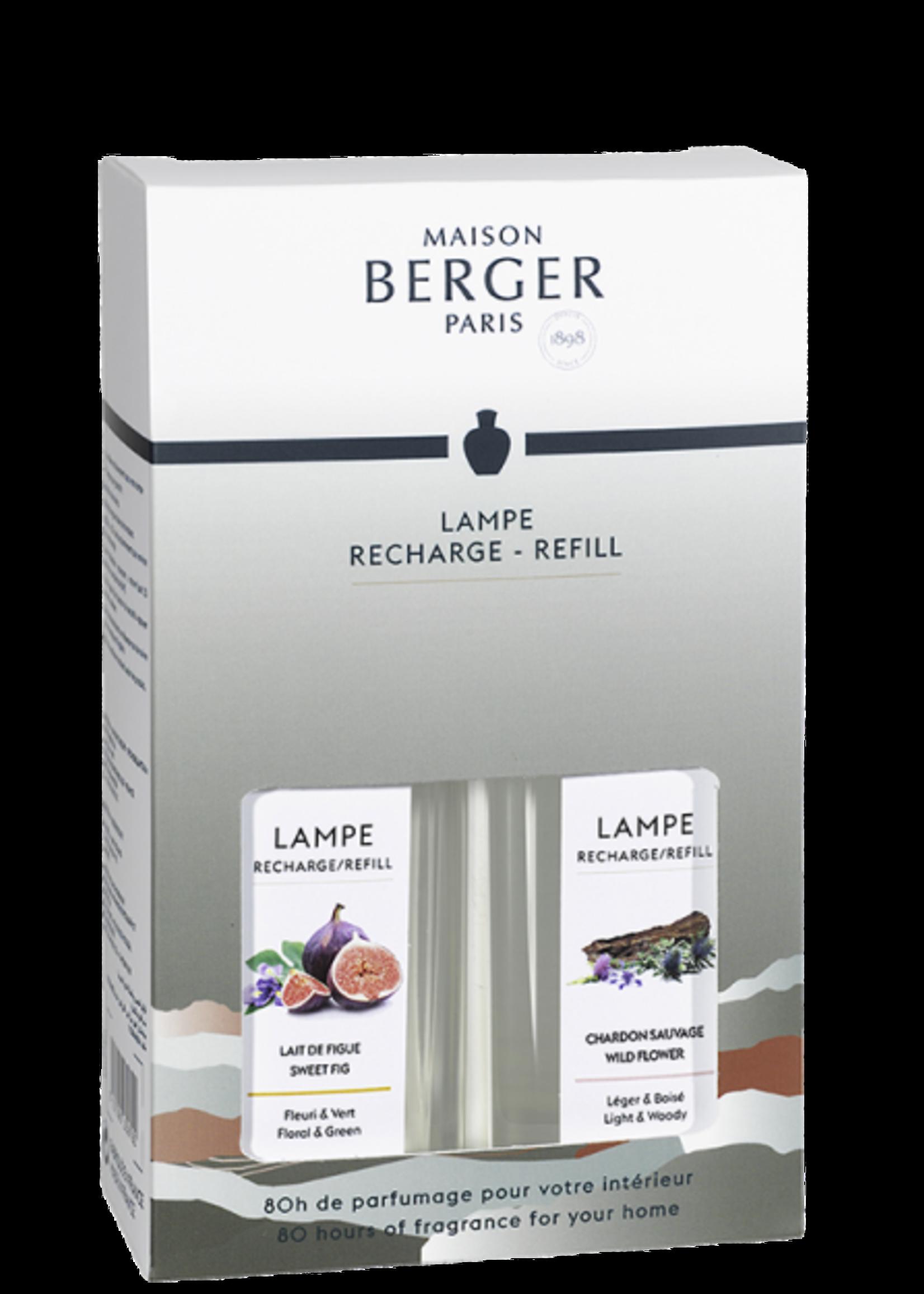 Lampe Berger Giftset 2 Lampe Berger Huisparfum Land 250ml