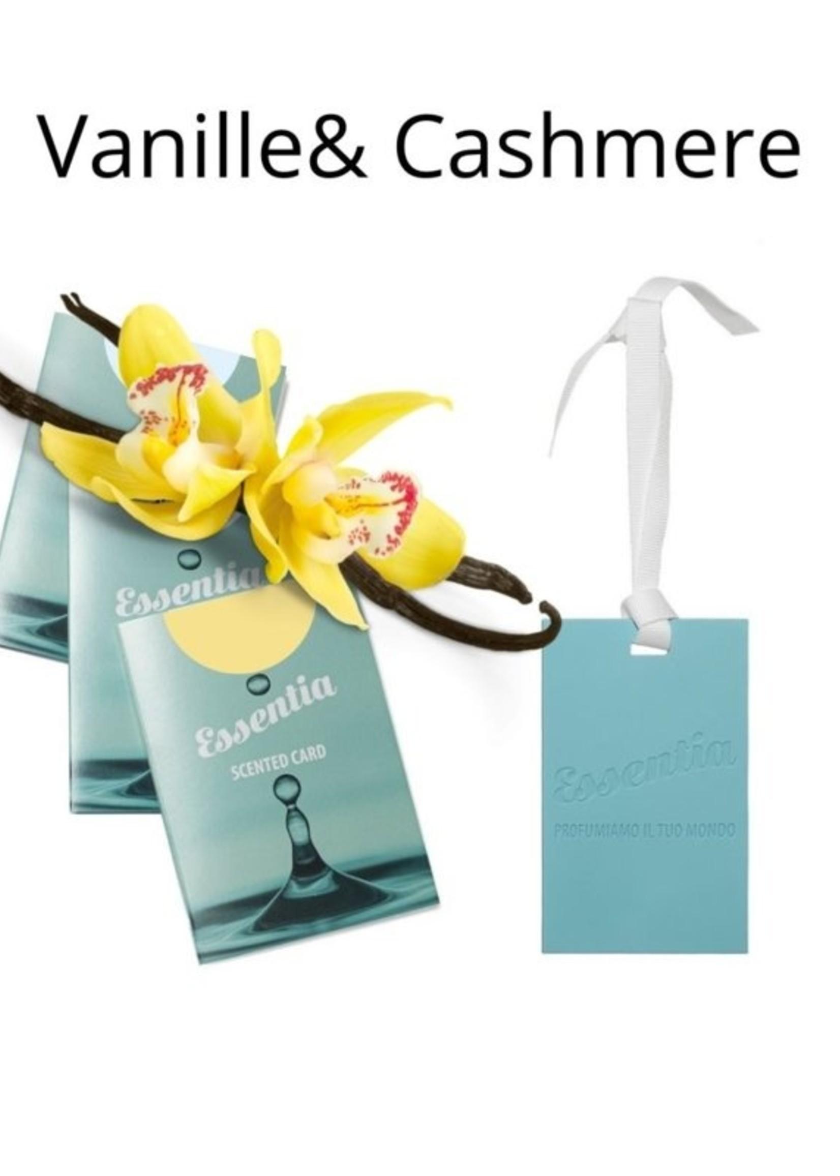 Wasgeluk Geurkaart Vanille met bergamot
