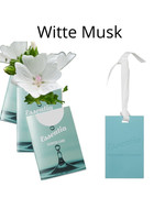 Wasgeluk Geurkaart Witte Musk