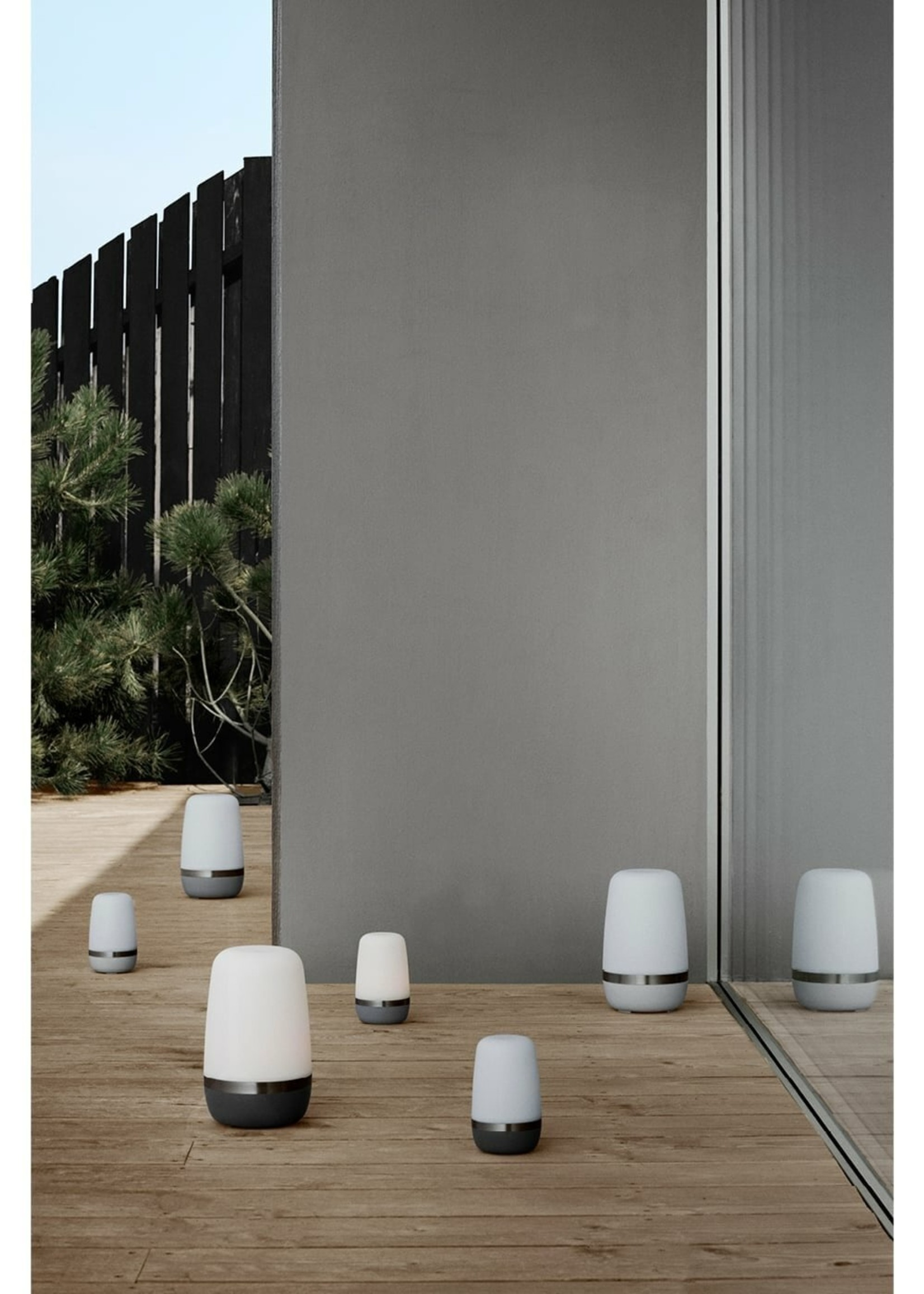 Blomus LED Outdoor Lamp Warm Gray