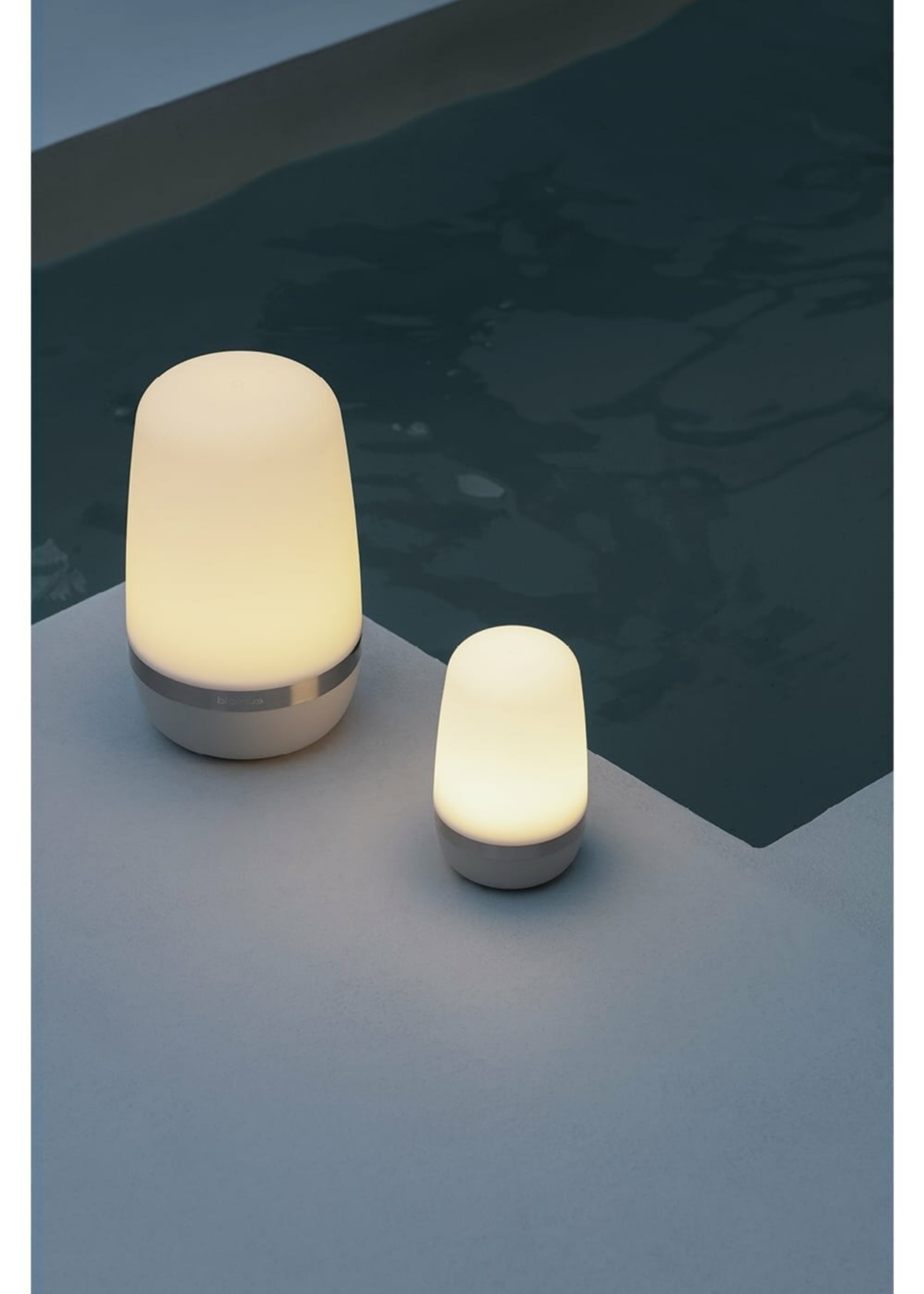 Blomus LED Outdoor Lamp Warm Gray