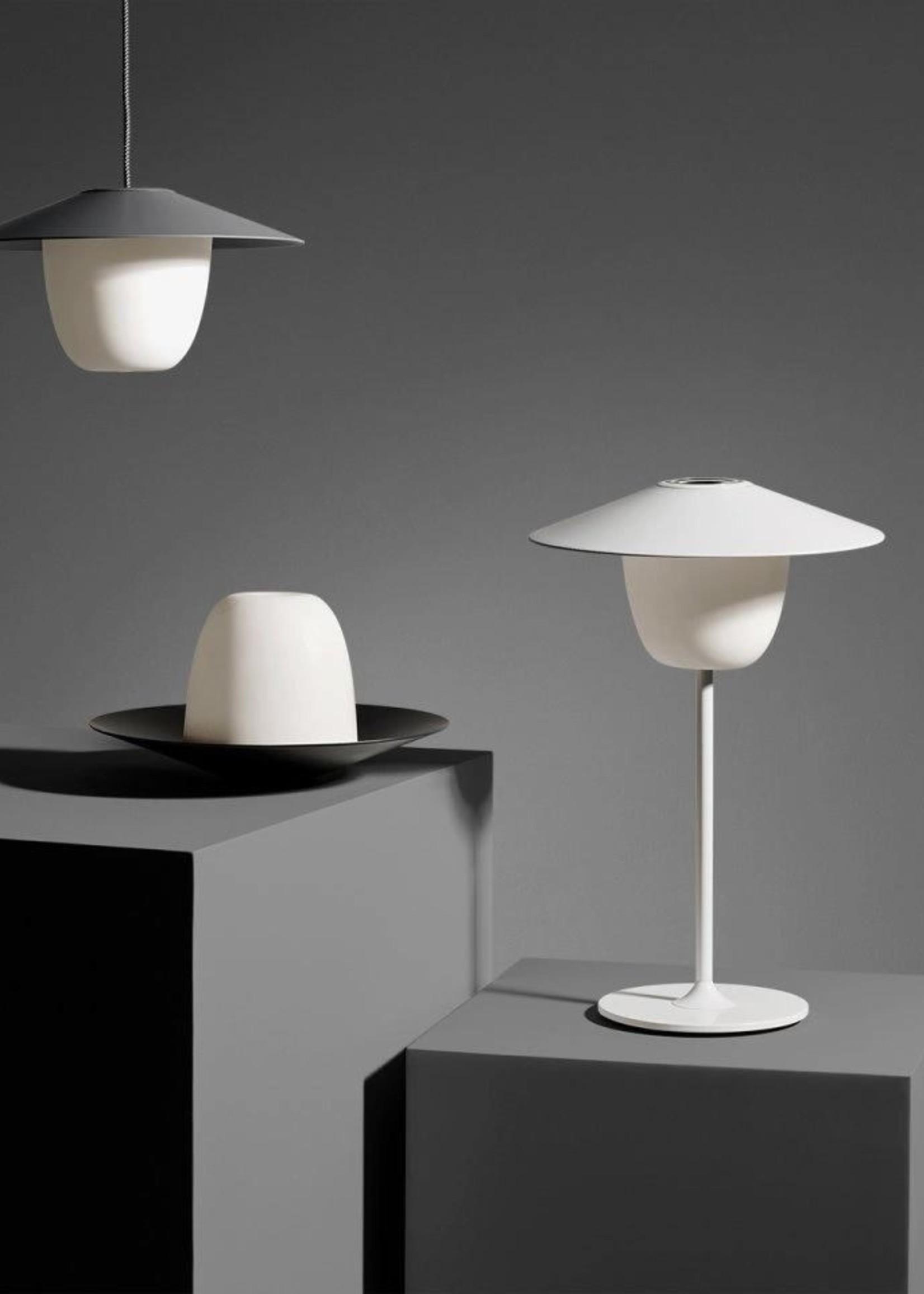 Blomus Mobiele LED lamp S warm gray