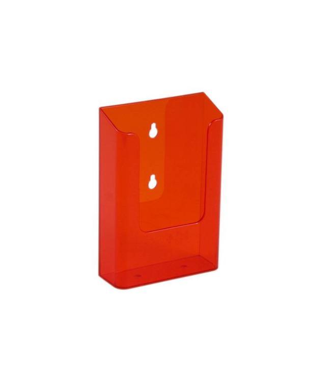 Folderhouder wand 1/3 A4 Neon