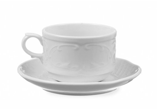 Hendi Porcelain White Dish 13cm Ø (6 pieces)