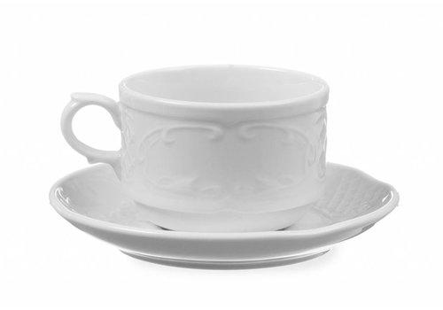 Hendi Porselein Wit Schotel | 13cm Ø (6 stuks)