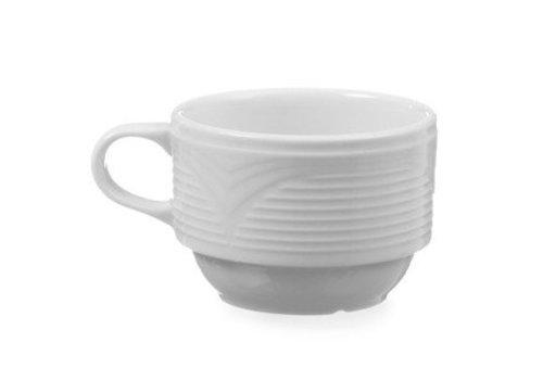 Hendi Weiß Espressotassen | 90 ml (6 Stück)