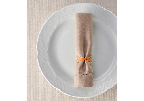 Hendi Flat Porcelain Dinner Plate | 30x28 cm (6 pieces)