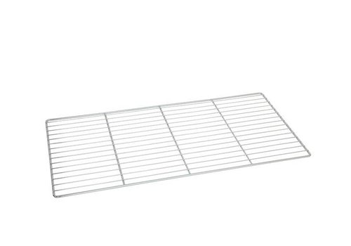 HorecaTraders Wire Shelf chrome for bakery | 80 x 40 cm