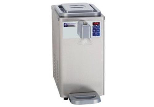 Diamond Slagroomautomaat 300 liter / uur - inhoud 6 liter