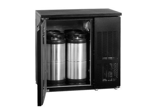 Esta RVS biervatenkoeler 4 vaten van 20 liter