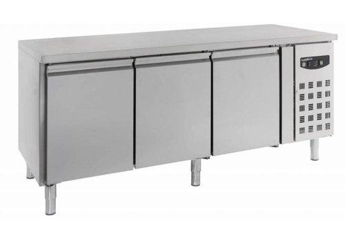 Combisteel Baker's Cooler Werkbank 3 Türen | 202 x 80 x 85 cm