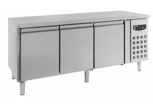Combisteel Baker's Cooler Workbench 3 Doors | 202 x 80 x 85 cm
