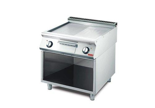Gastro-M Elektrische Grillplatte | 70 (d) × 80 × 85 cm