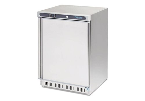 Polar Stainless Steel Freezer | 140 liters