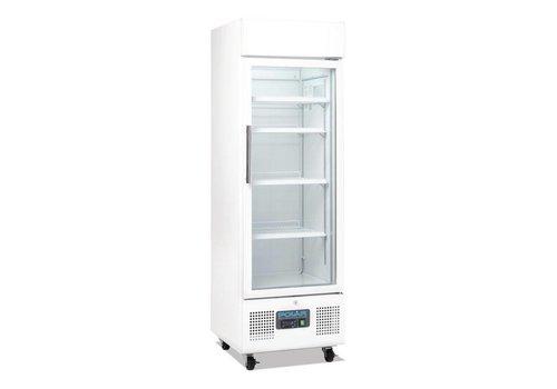 Polar Alkoholfreie Getränke Kühlschrank mit Glastür und Rädern