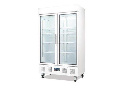 Polar Bar Refrigeration for Bottles 952 Liter | 2 folding doors