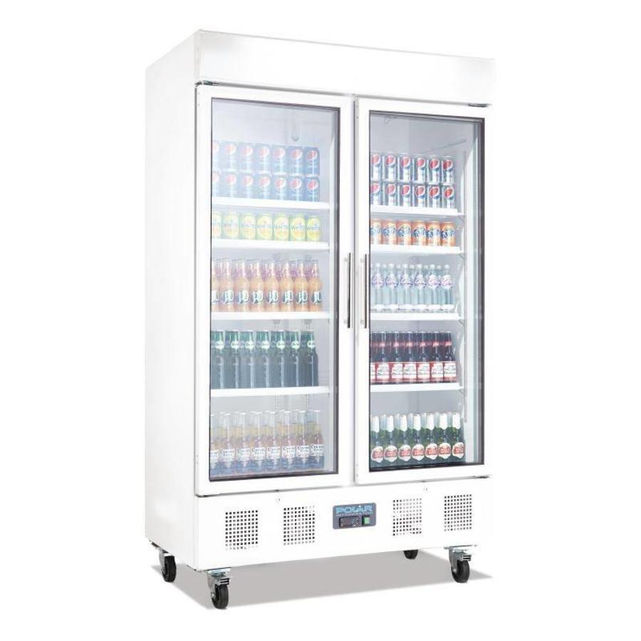 Bar Koeling voor Flessen 952 Liter   2 Klapdeuren