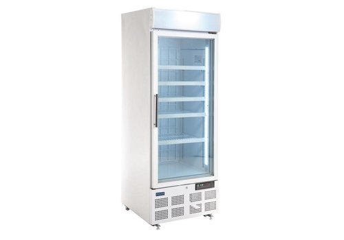 Polar Business freezer with glass door