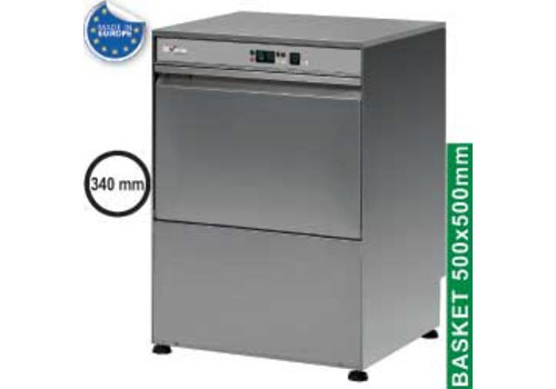 Diamond Stainless steel Double-walled Dishwasher 3kW