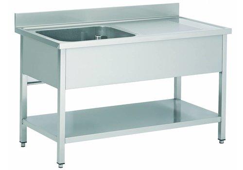 Combisteel Stainless steel sink Professional 2 Formats cockpit left