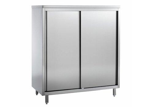 Combisteel Cupboard with 4 shelves, W 1200 mm
