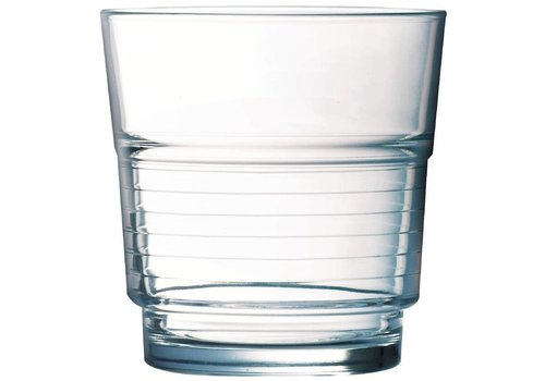Arcoroc Drinking Glasses Spiral 25cl | 6 pieces