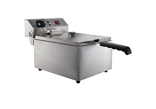 Combisteel Elektrische tafelfriteuse - 1 x 6 Liter
