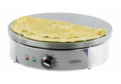 Casselin Crepes electric griddle Round | 40 cm