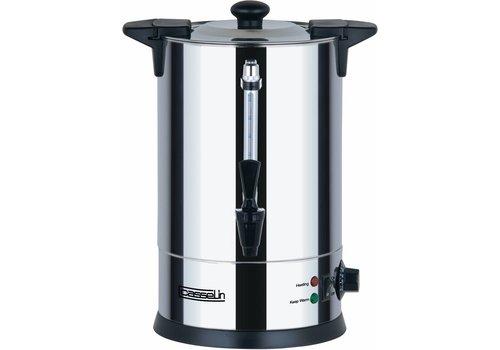 Casselin RVS Heetwaterdispenser met Kraan  6.8 Liter