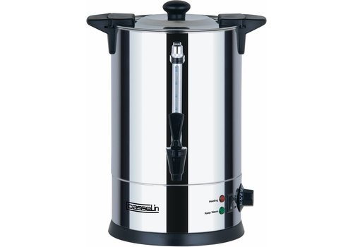 Casselin Stainless Steel Hot Water Dispenser with Faucet 6.8 Liter