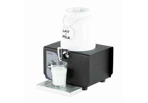 Casselin Warme melk dispenser wit porselein | 4 Liter