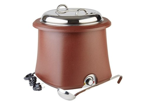 APS Brown Stockpot removable - 10 Litre