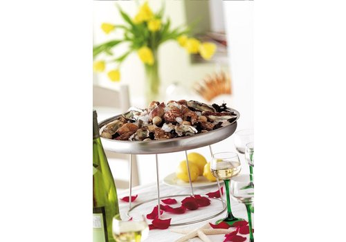 APS Buffet Stand   Chrome plated