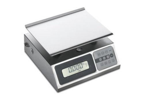 Diamond Weegschaal in R.V.S. 10 kg | per 2 gram