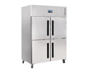 Kühlschrank Polar : Kühlschrank edelstahl türen liter kaufen schnell