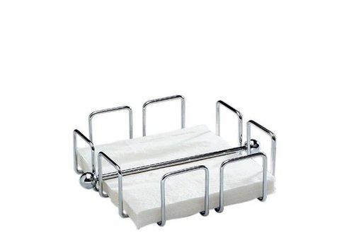 HorecaTraders Napkin holder for 50 napkins | 19x19x6,5cm