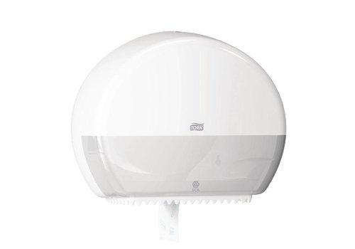 Mini-Jumbo-Toilettenpapierhalter | Weiß