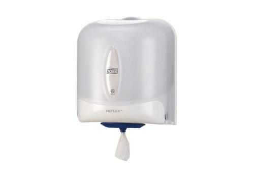 HorecaTraders Tork Reflexpapierspender | Weiß