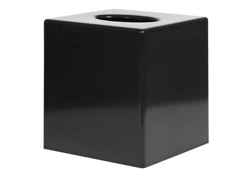 HorecaTraders Tissue Box Square | schwarz