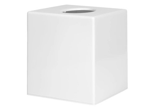 HorecaTraders Tissue Box Square | Black - Copy