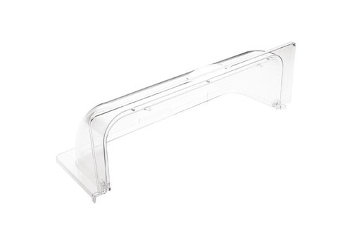 HorecaTraders Plastic Sliding Cover   GN 1/1