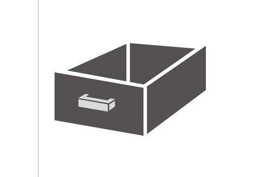 Gastro-M Edelstahl-Schubladen für Unterbau