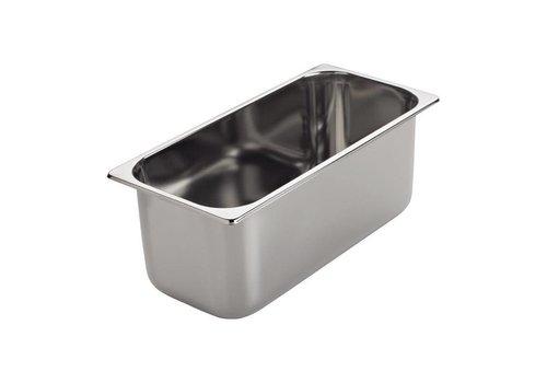 Gastro-M ijs-uitschepbak | 36 x16,5 x 8 cm