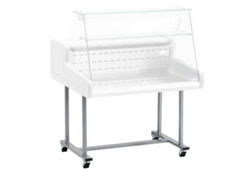 Diamond Edelstahluntergestell für Kühltheke | für Super / 15-ZD