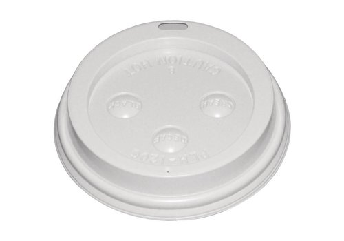 HorecaTraders Koffiebeker 23 cl deksel (50 stuks)